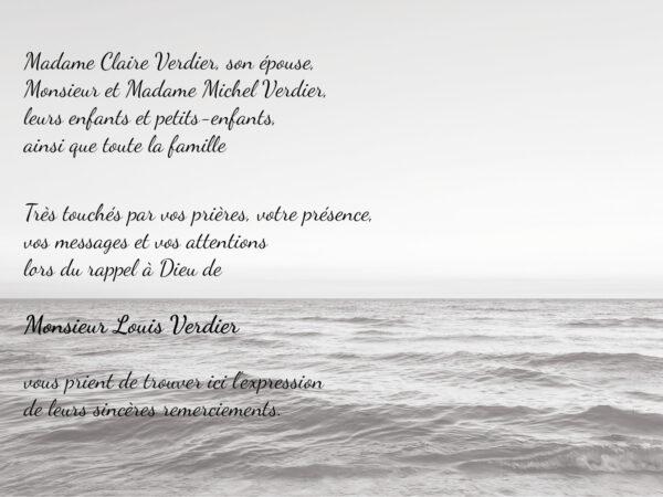 Mer noir et blanc